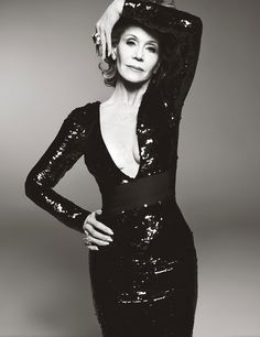 Jane Fonda by Steven Meisel for W Magazine June/July 2015 | The Fashionography