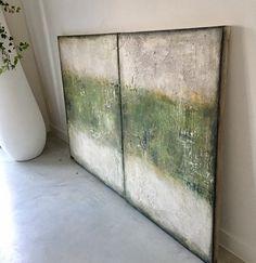 Home Interior Dark Hallway Art, Encaustic Art, Office Art, Large Art, Diy Art, Framed Art, Design Art, Modern Art, Abstract Art
