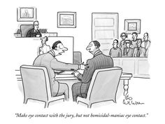 New Yorker Cartoon Premium Giclee Print by Leo Cullum at Art.com