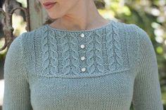 Bibbed Shirtwaist - Knitting Daily