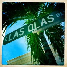 Las Olas Blvd in Fort Lauderdale, FL... great shopping!! I'd never refuse another trip here!!