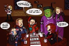 things for thingswithwings: Photo. Coulson is so happy! And the mini sweater for Mjolnr!