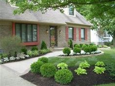 Low Maintenance Front Yard Landscaping - Bing Images