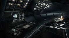 Spaceship Woman Dark Bed Dashboard Future Wallpaper #113414