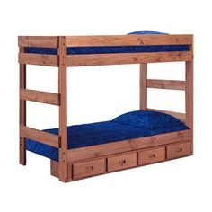Chelsea Home 312001-411-S One-Piece Bunk Bed #home decor sale & deals Bed Size:Twin over Twin, Configuration:With Underbed Storage, Finish:Mahogany One-Piece Bunk Bed Includes: One (1) Piece Bunk Bed Frame Optional Four ...