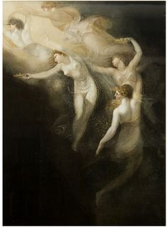Portion of a Picture Representing the Dream of Queen Katherine (Shakespeare, 'Henry VIII', Act IV, Scene 2)  Fuseli, Henry