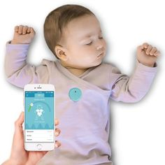 Baby Monitor uses a cutting-edge sensor to send real-time updates to the MonBaby iPhone/Android app,
