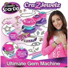 Buy Cra-Z-Jewels Ultimate Gem Machine at Argos.co.uk - Your Online Shop for Arts, crafts and creative toys.