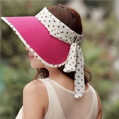 2017 Fashion Girl Lady Beach Sun Visor Foldable Roll Up Wide Brim Straw Hat  Cap a3c3073de