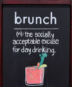 because who doesn't love a mimosa?