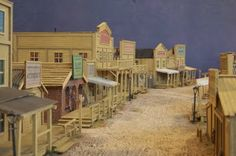 Colonel O'Truth's Miniature Issues: Old West - Leadwood City