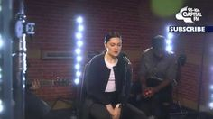 Jessie J - 'Stay With Me' (Capital Live Session). She killed it; Tori Kelly, Happy Song, Acoustic Music, Music Express, Jessie J, Sam Smith, Cover Songs, Billboard Music Awards, Saddest Songs