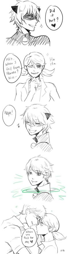 Cuties Miraculous Ladybug Chat noir, Marinette, Adrien << I nearly fell out of my chair. Ladybug E Catnoir, Ladybug Und Cat Noir, Comics Ladybug, Miraculous Ladybug Chat Noir, Miraculous Ladybug Fanfiction, Miraculous Ladybug Fan Art, Lady Bug, Marinette Ladybug, Bugaboo