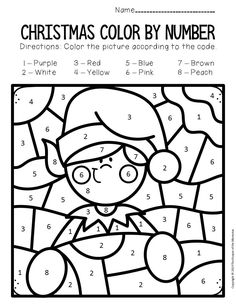 If you're looking for a fun way to practice fine motor skills and letter recognition with your preschoolers and kindergartners, you're definitely not going to want to miss these Color by Lowercase Letter Christmas Preschool Worksheets! Pre K Worksheets, Sight Word Worksheets, Printable Preschool Worksheets, Coloring Worksheets, Christmas Color By Number, Christmas Colors, Kids Christmas, Christmas Crafts, Christmas Alphabet