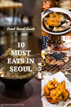 10 delicious must eats in Seoul and where you can try them, including restaurant food and street food. One of the best parts of traveling to Seoul is exploring Korean cuisine. Seoul Travel Guide, Seoul Korea Travel, Asian Street Food, Mets, Korean Food, Foodie Travel, The Best, A Food, Cooking Recipes