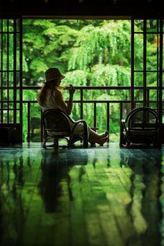 南昌荘 床緑 Nanshousou, Morioka, Japan Japan Summer, Japan Garden, Japanese Modern, Beautiful Places To Visit, Culture Travel, Light And Shadow, Japan Travel, Art History, Landscape