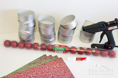 Recycled Tin Can Christmas Tree For Under $5! || Practically Functional