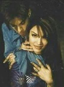 Mayte and Prince Rogers Nelson