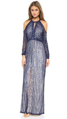 Parker Parker Black Casa Gown - Blue | SHOPBOP.COM saved by #ShoppingIS