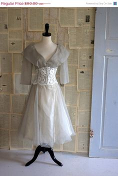 SALE Vintage 1960s Dress 60s Cocktail Semi by SassySisterVintage, $72.00