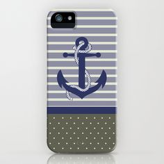 Navy II iPhone & iPod Case by studio VII - $35.00 http://society6.com/vivinicolin/Navy-II_iPhone-Case