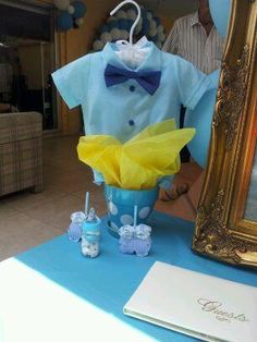 de mesa para baby shower de ni o bello centerpiece baby shower for