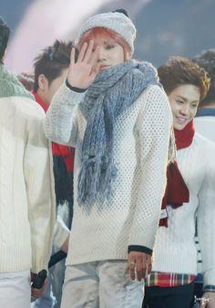 Sungjong - Infinite 131229 SBS Gayo Daejun