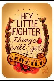Love this one (especially with the boxing gloves)...because even the most positive people need to hear this now and again!