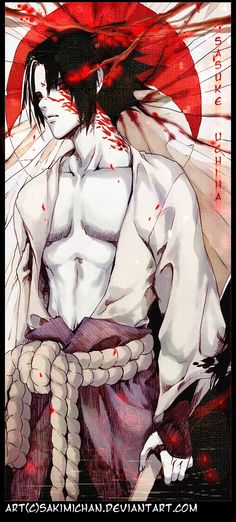 .Sasuke Uchiha . by *sakimichan on deviantART