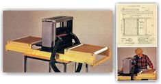 Roller Table for Portable Planer - Planer Tips, Jigs and Fixtures | WoodArchivist.com