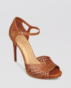 Ankle Strap Pumps - Ariell High Heel