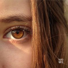 Image about girl in Eyes 👀💛 by on We Heart It