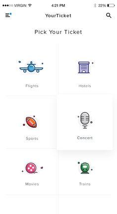 Cell Phones For Seniors Mobile Ui Design, App Ui Design, User Interface Design, Page Design, Web Design, Kiosk, Icon Design, Launcher Icon, Cell Phones For Seniors