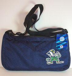 Notre Dame Fighting Irish Jersey Purse Bag NCAA Crossbody Bag New Tags Patch #MostValuableFan #MessengerCrossBody