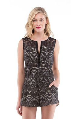 The chicest romper.