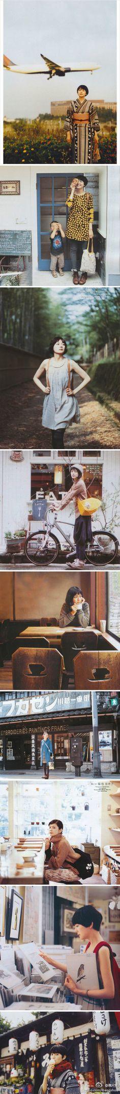 菊池亜希子的旅行日记。连载了快六个年头。