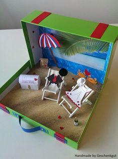 Hochzeitsgeschenke selbstgemacht - Schatztruhe