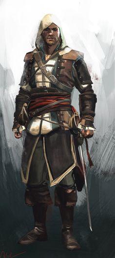 Assassin's Creed - Edward Kenway by Namecchan *