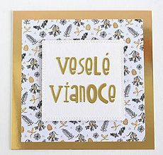 Papiernictvo - Pohľadnica Veselé Vianoce - 8639659_
