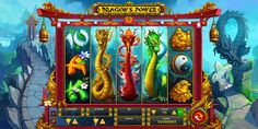 ArtStation - Dragon`s Power, Georgi Markov Jackpot Casino, Game Gui, Casino Slot Games, Types Of Painting, Chinese Zodiac, Korea, Slot Machine, Game Design, Vikings
