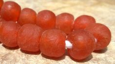 African Recycled Glass BeadsAfrican Glass by RedEarthBeads on Etsy, $4.00