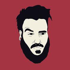 Caricatura de @xkadekix realizada en clase de ilustración. Seductor's Face 😏  @rob_sticky  .  .  .  .  #design #designer #graphicdesign #fashiondesign #designs #designers #interiordesign #instadesign #interiordesigner #logodesign #art #artist #artwork #berto #custome #streetart #arte #customer #alcohol #drug #tattoo #fashion #diy #cool #drawing #face #grafitti #caricatura #retrato #portrait