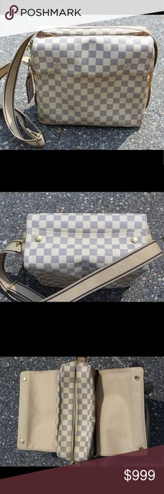 Louis Vuitton Damier Navigilo Messanger Bag Excellent condition - light wear - Price firm no trades - buy for less & more pics at www.chicboutiqueconsignments.com! MA's #1 designer consignment boutique! Louis Vuitton Bags Crossbody Bags