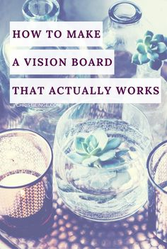 vision board \ dream board \ live with intention \ personal goals