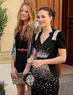 Blair Waldorf and Serena Van Der Woodsen style