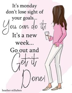 OK Monday, let's do this! Positive Quotes For Life Happiness, Positive Quotes For Women, Positive Thoughts, Daily Quotes, Me Quotes, Motivational Quotes, Inspirational Quotes, Cool Words, Wise Words