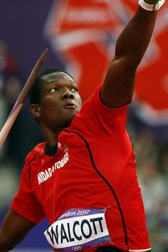 Keshorn Walcott Trinidad And Tobagos Gold Medallist In The Javelin At London 2012 Olympics