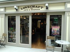 Lovecraft shop in Providence