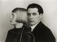 August Sander. Dora and Hans Heinz Lüttgen, Köln, 1926.