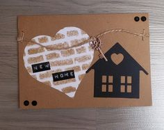 Moostly Cards & Crochet: Serie #34 New Home